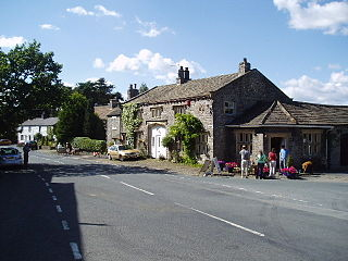 Bolton-by-Bowland village in the United Kingdom