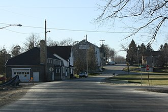 Boltonville, Wisconsin - Image: Boltonville Wisconsin Downtown Looking West
