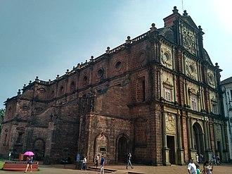 Basilica of Bom Jesus - Basilica of Bom Jesus in 2018.