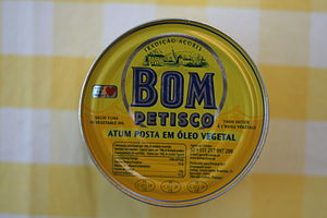 Fishing in Portugal - Bom Petisco canned tuna