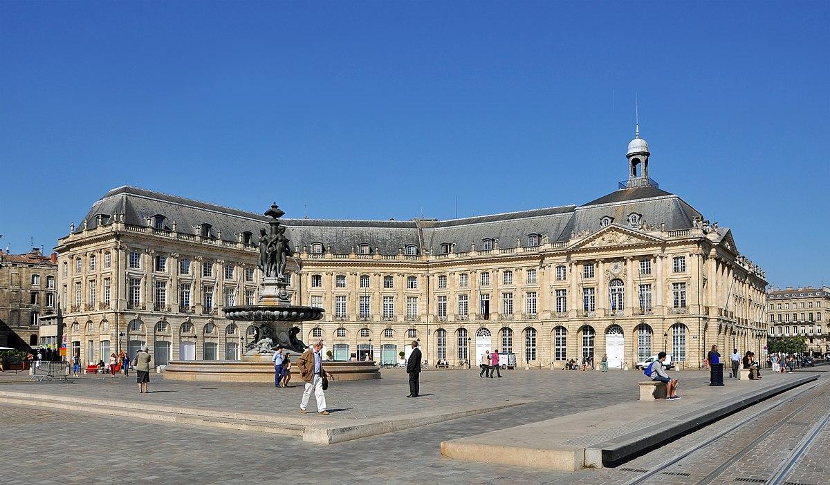 H tel de la bourse bordeaux wikip dia for La boutique bordeaux hotel