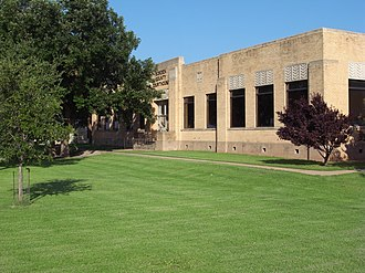 Borden County, Texas - Image: Borden County Texas Courthouse 2010