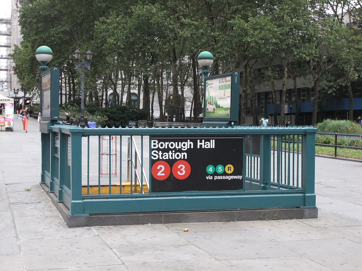 Service Station Near Me >> Borough Hall/Court Street (New York City Subway) - Wikipedia
