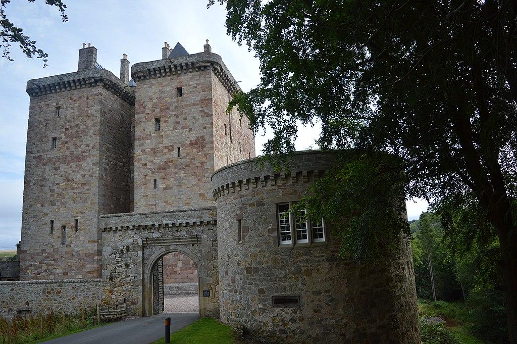 Gatewy of Borthwick Castle
