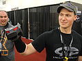 BotCon 2011 - Ravage the Insult Comic Decepticon and friend (5802071201).jpg