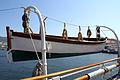 Bote de salvamento en el Buque Escuela Juan Sebastián de Elcano (14694186796).jpg