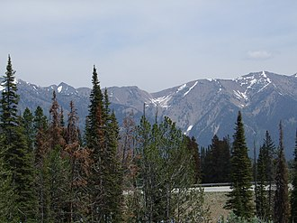 Boulder Mountains (Idaho) - Image: Boulder Mountains 2