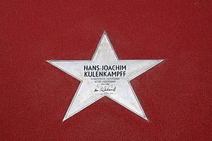 Hans-Joachim Kulenkampff - Star of Hans-Joachim Kulenkampff on Boulevard der Stars in Berlin