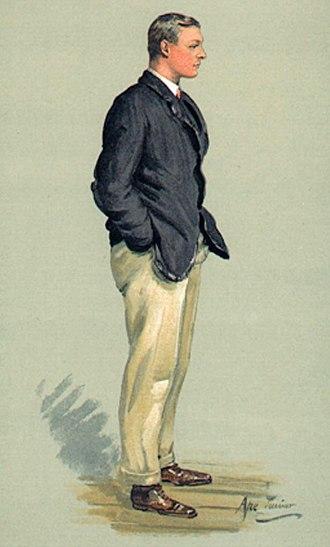 Robert Bourne (politician) - Robert Bourne – Vanity Fair caricature