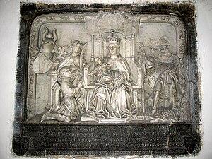 Boussu - Thierry de Hennin Liétard funerary memorial (1406–1430)
