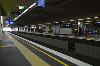 Box Hill railway station, Melbourne