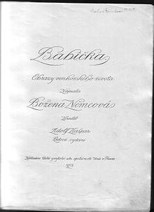 Bozena Nemcova Wikipedie