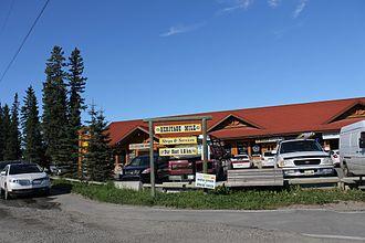 Bragg Creek - The store in Bragg Creek