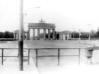Pariser Platz - Pariser Platz in 1982