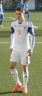 Brandur Olsen Faroese international footabller