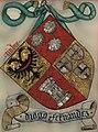 Brasão de Diogo Fernandes - Livro do Armeiro-Mor fl.129 - João de Cró.jpg