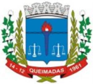 Queimadas, Paraíba - Image: Brasao queimadas