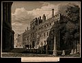 Brasenose College, Oxford; with schoolchildren at the side o Wellcome V0014069.jpg