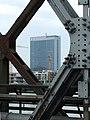 Bratislava, Staré Mesto, Starý most, pohled na Tower 115.jpg