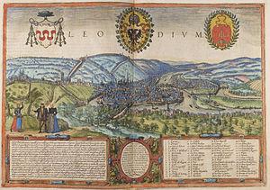 Timeline of Liège - Liège, 16th century