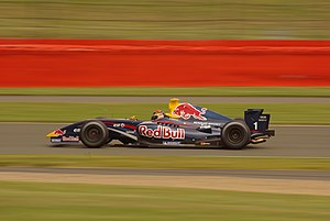 Brendon Hartley - Hartley driving for Tech 1 Racing at the Silverstone round of the 2009 Formula Renault 3.5 Series.