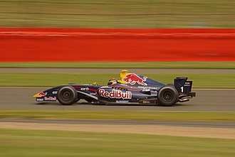 Brendon Hartley - Hartley driving for Tech 1 Racing at the Silverstone round of the 2009 Formula Renault 3.5 Series