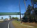 Bridge over temporary connection road from Osceola Parkway to World Drive entrance (30856134513).jpg