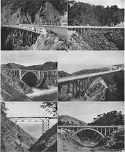 Bridges on the Carmel-San Simeon Highway
