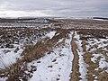 Bridleway over Rebel Hill - geograph.org.uk - 1704499.jpg