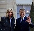 Brigitte Macron and Emmanuel Macron - November 2018 (1541931666) (cropped).jpg
