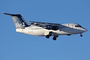 Blue1 - A former Blue1 Avro RJ85