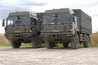 RMMV HX range of tactical trucks - Image: British Army HX60
