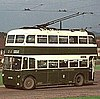 British trolleybus
