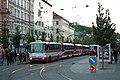 Brno, Joštova, zastávka Česká, Karosa B 931 č. 7433 (01).jpg