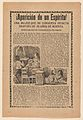 Broadside relating to a news story about an apparition of a spirit, women sitting up in bed looking at a ghost MET DP868538.jpg