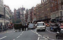 Brompton Rd, London looking north from Harrod's - geograph.org.uk - 2614.jpg
