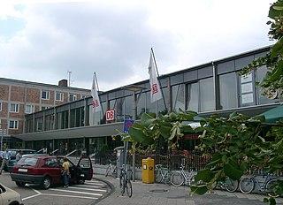 Bruchsal station railway station in Bruchsal, Germany