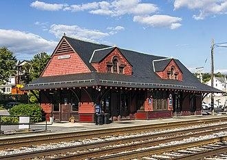 Brunswick station (Maryland) - Brunswick station house, September 2012
