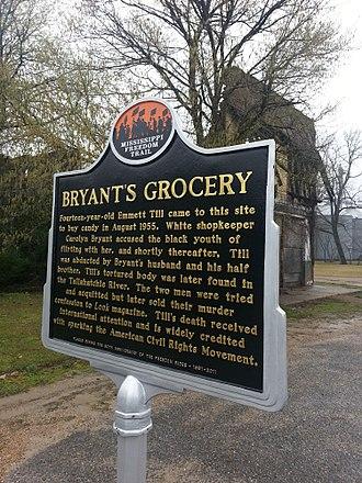 Emmett Till - Bryant's Grocery, 2013