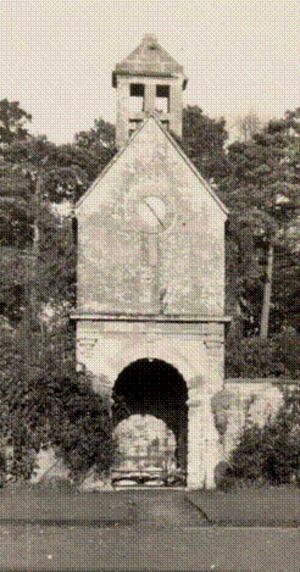 Brympton - Image: Brympton Clock tower