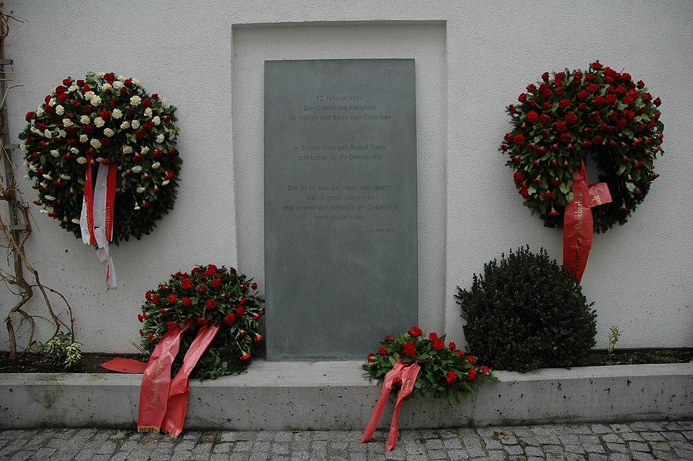 Buergerkriegsdenkmal Linz
