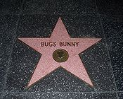 Bugs Bunny sur le Walk of Fame