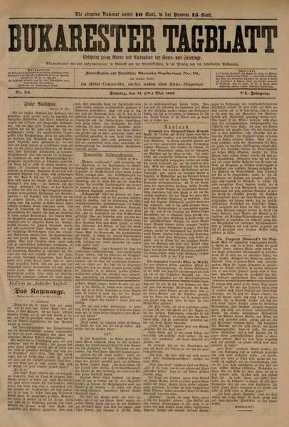 File:Bukarester Tagblatt 1885-05-31, nr. 118.pdf