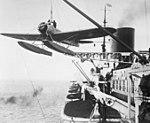 """Bundesarchiv Bild 102-10309, Katapult-Flugzeug des Dampfers """"Europa"""" (cropped).jpg"""