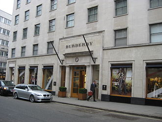 Burberry - Image: Burberry London