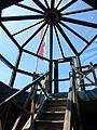 Burg Münzenberg-04-Glaspyramide Ostturm.jpg