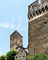 Burg Schönburg Oberwesel, äußere Mantelmauer der Kernburg (b).jpg