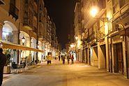 Burgos Historic Centre at night