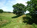Burrow hillfort - rampart 3 - geograph.org.uk - 837245.jpg
