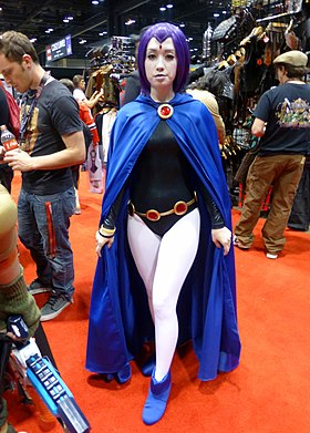 Cosplay de Raven à la Chicago Comic & Entertainment Expo 2014.